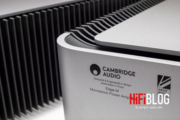Cambridge Audio Edge M Monoblock Power Amplifier 01