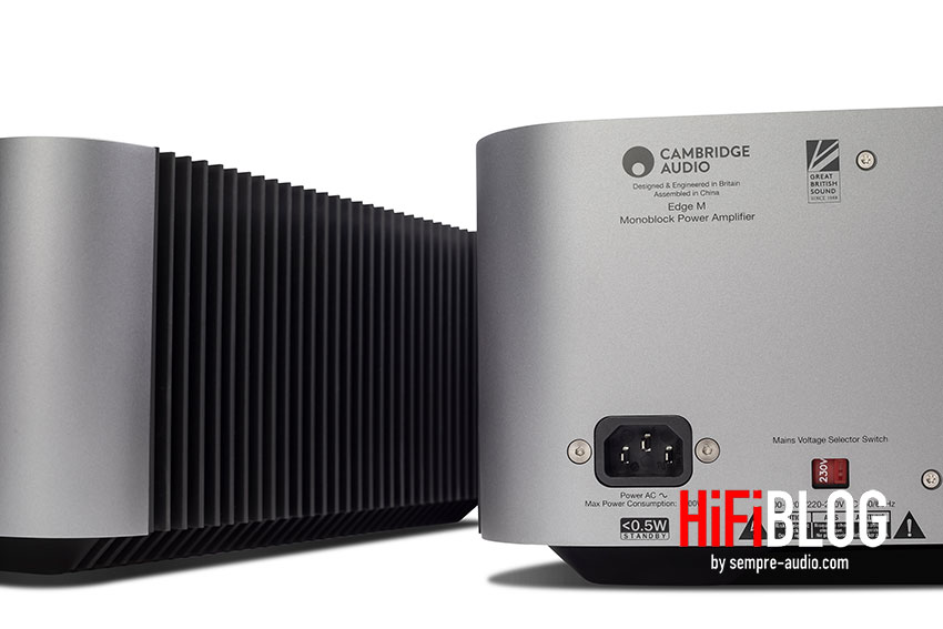 Cambridge Audio Edge M Monoblock Power Amplifier 12