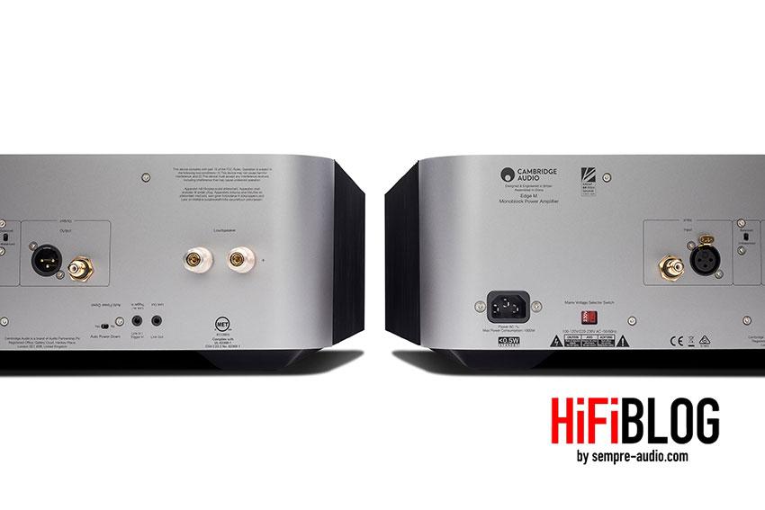 Cambridge Audio Edge M Monoblock Power Amplifier 13