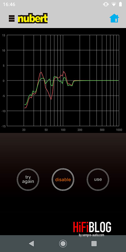 Nubert XRC Android Interface 06