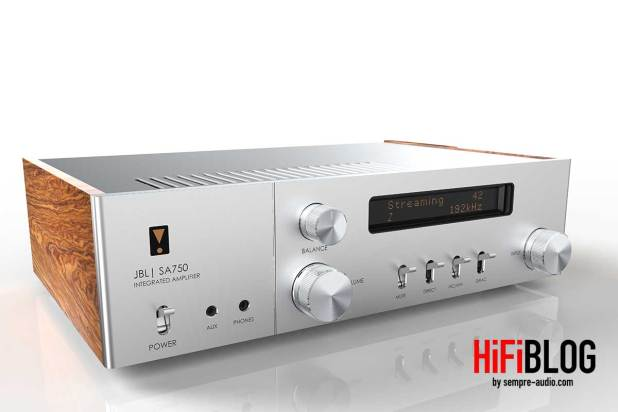 JBL SA750 Integrated Amplifier 01