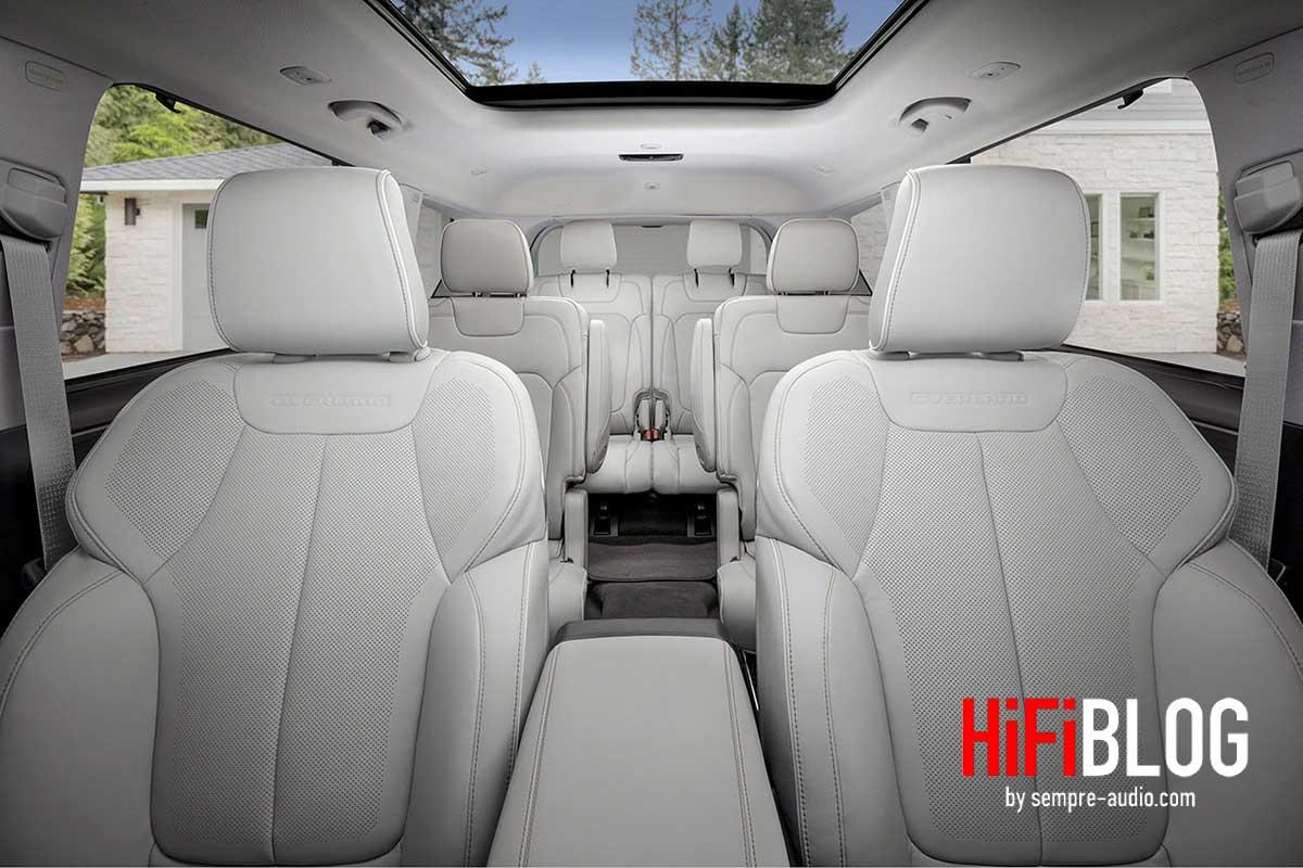 McIntosh MX950 Entertainment System im Jeep Grand Cherokee L 05