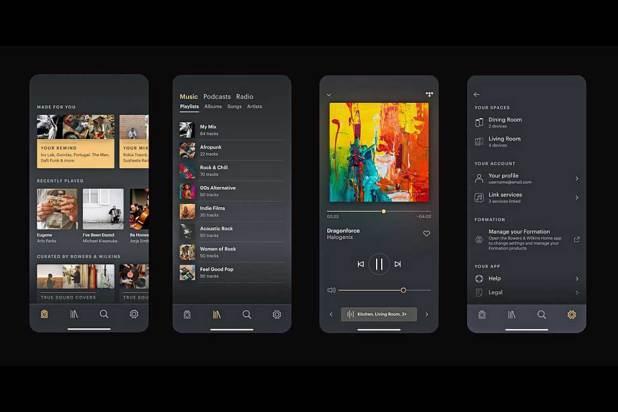 Bowers Wilkins Music App 01