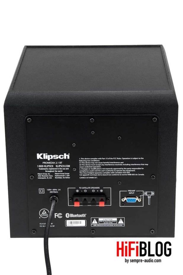 Klipsch ProMedia 2 1 BT Bluetooth Computer Speakers 13