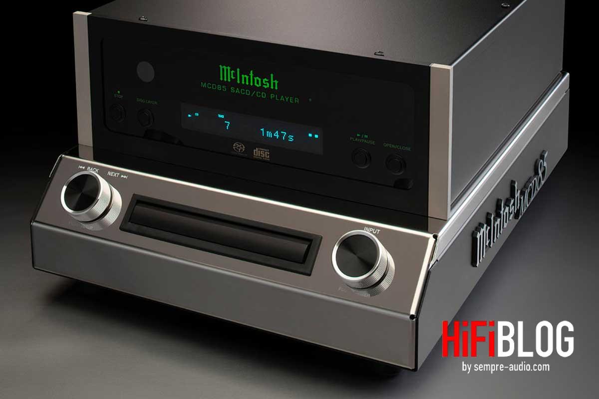 McIntosh MCD85 2 Channel SACD CD Player 03