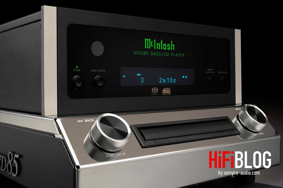 McIntosh MCD85 2 Channel SACD CD Player 04