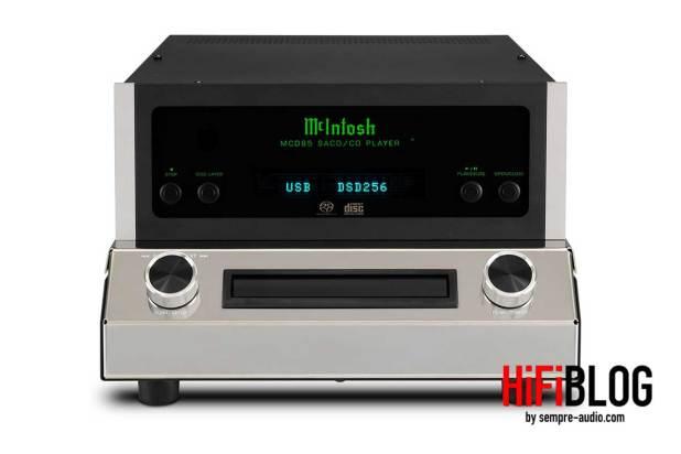McIntosh MCD85 2 Channel SACD CD Player 06