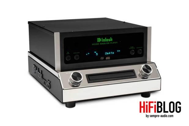 McIntosh MCD85 2 Channel SACD CD Player 07