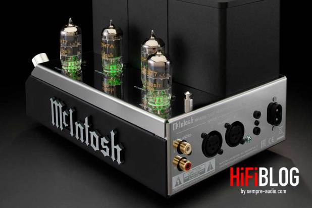 McIntosh MHA200 2 Channel Vacuum Tube Headphone Amplifier 02