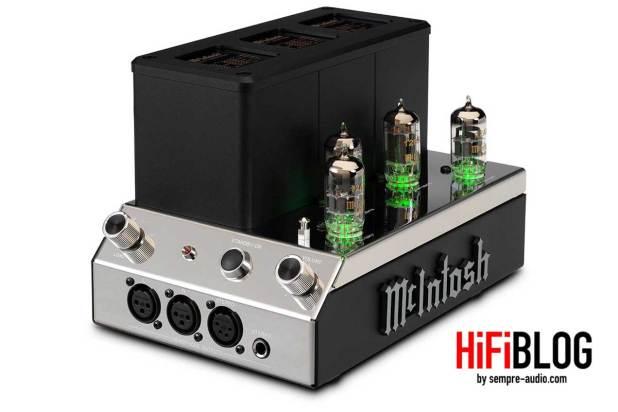 McIntosh MHA200 2 Channel Vacuum Tube Headphone Amplifier 07