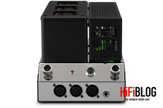 McIntosh MHA200 2 Channel Vacuum Tube Headphone Amplifier 08