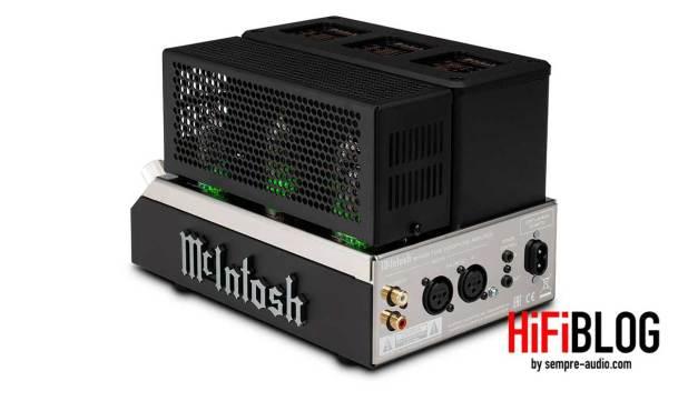 McIntosh MHA200 2 Channel Vacuum Tube Headphone Amplifier 09
