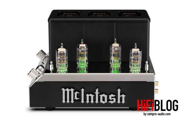 McIntosh MHA200 2 Channel Vacuum Tube Headphone Amplifier 11