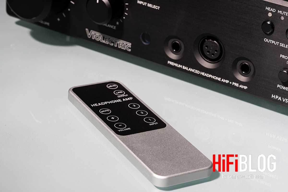 Violectric HPA V550 Premium Balanced Headphone Amp and Preamp 05