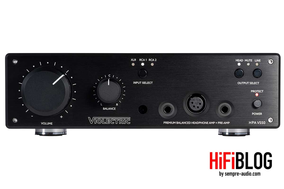Violectric HPA V550 Premium Balanced Headphone Amp and Preamp 11