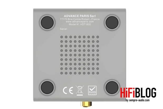 Advance Paris HDT800 Transmitter 04