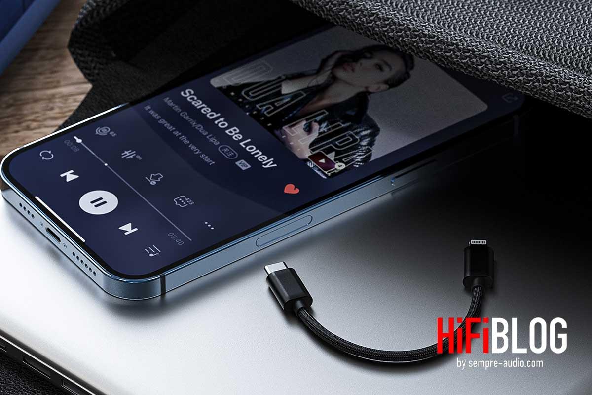 FiiO LT LT1 USB Type C to Lightning Data Cable 07