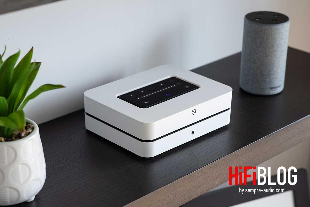Bluesound POWERNODE Wireless Multi-room Music Streaming Amplifier