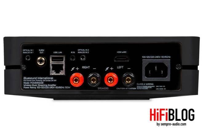 Bluesound POWERNODE Wireless Multi room Music Streaming Amplifier 10