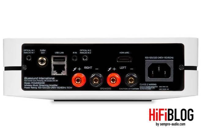 Bluesound POWERNODE Wireless Multi room Music Streaming Amplifier 14