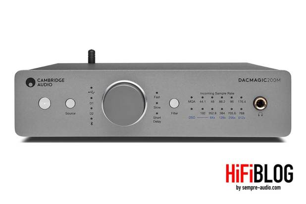 Cambridge Audio DacMagic 200M Hi Res DAC 09
