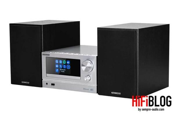 Kenwood Smart Micro HiFi System M 7000S und Kenwood Smart Micro HiFi System M 9000S 09
