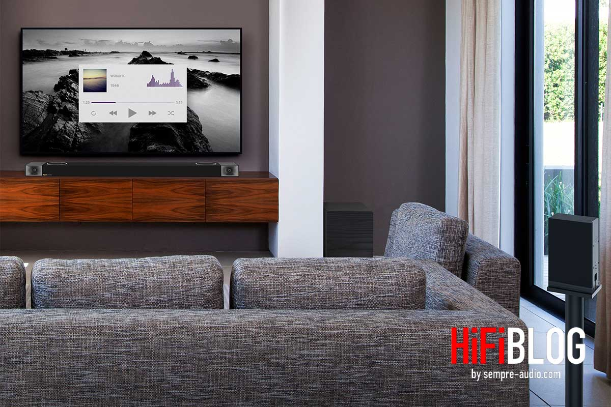 Klipsch Cinema 1200 Dolby Atmos 5 1 4 Sound Bar 05
