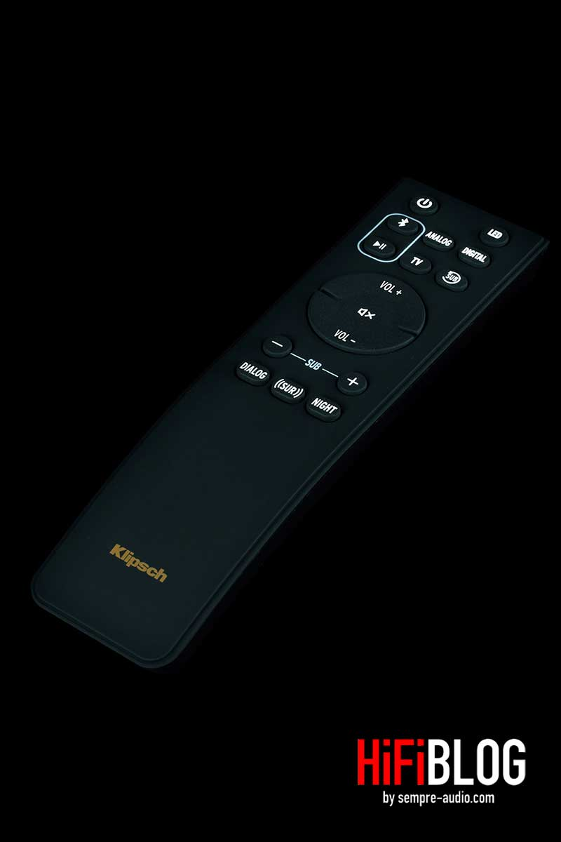 Klipsch Cinema 800 Dolby Atmos 3 1 Sound Bar 04
