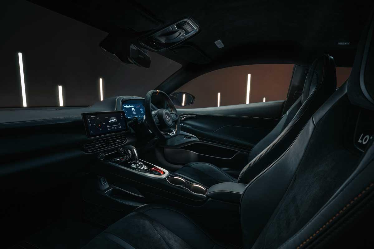 Lotus Emira KEF Premium Audio System KEF Uni Q Chassis 17
