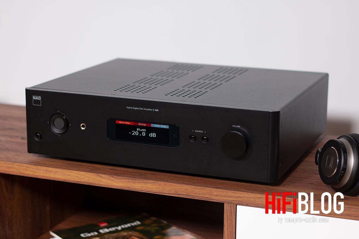 Foto © NAD Electronics International | NAD C 399 Hybrid Digital DAC Amplifier