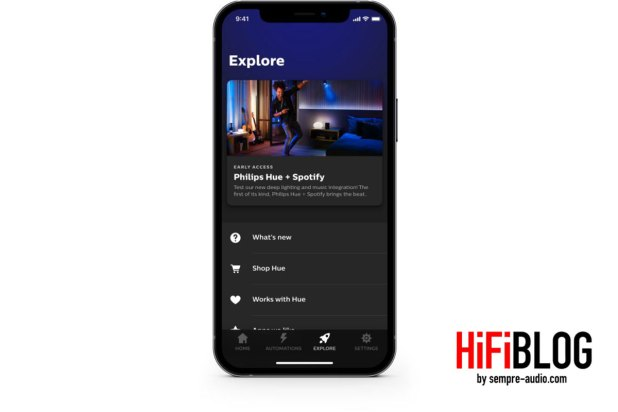Philips Hue + Spotify