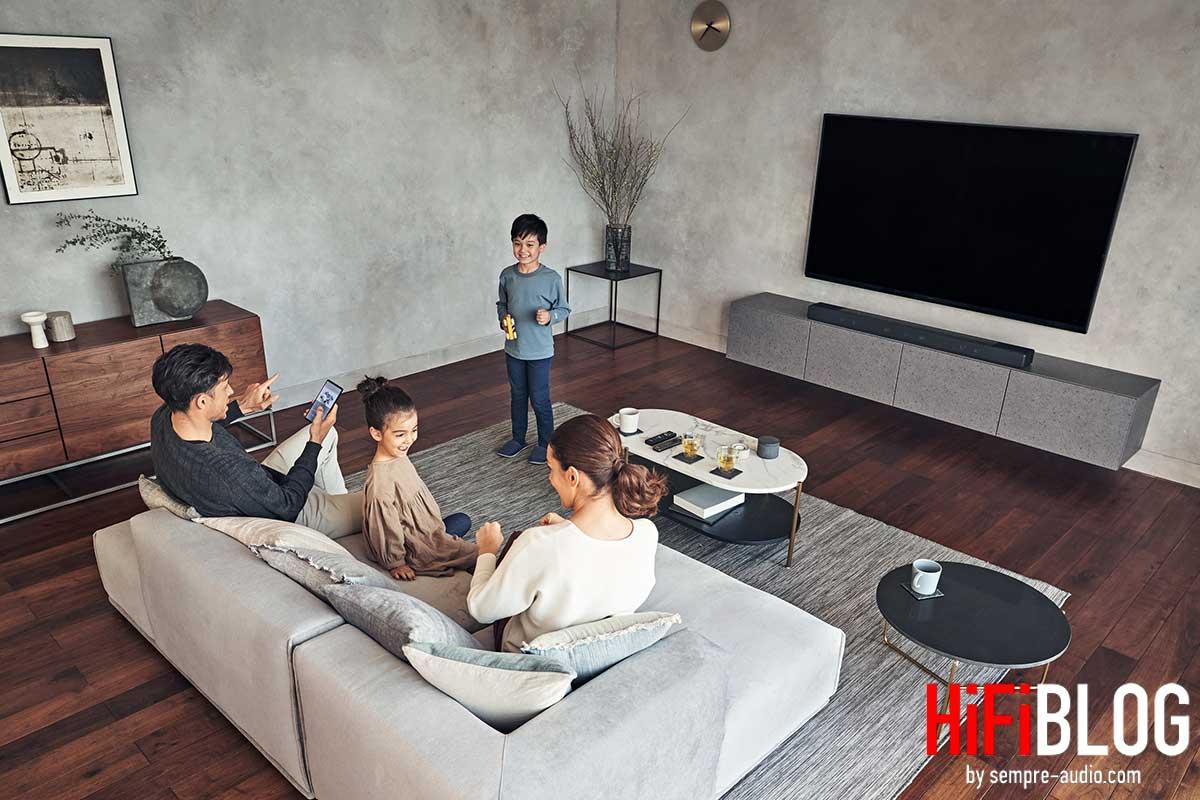 Foto © Sony Corporation - Sony HT-A7000 - 7.1.2-channel flagship soundbar