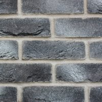 Thin Brick Cladding Tiles - Thin Brick Tiles - Grey Brick Cladding - Grey Brick Slips