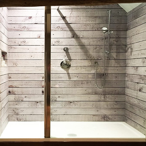Wood Effect Shower Panels