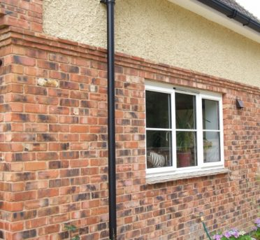 Brick Cladding - Reclaimed Slim Bricks - Installing Brick Slips