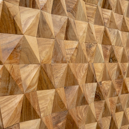 Geometric Timber Panels Natural Wood Splitface Wall Panels Uk Wide