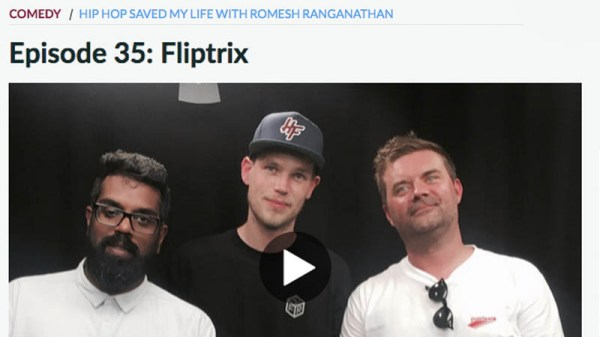 Fliptrix Featured On 'Hip Hop Saved My Life' Podcast With ...