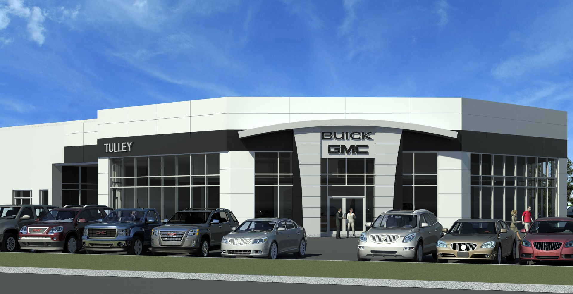 Andy Mohr Gmc >> Jewett to Renovate Tulley Buick/ GMC - High-Profile : High ...