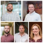 Construction Management Firm Promotes Five