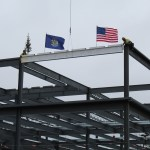 Final Steel Beam Placed On New DHHS Building