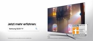Gesucht und gefunden: Samsung QLED TV