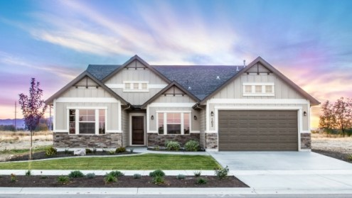 The Rise of Ranch Style Homes  Open Kitchens  Large Windows and     One of the homes designed by Eaglewood Homes