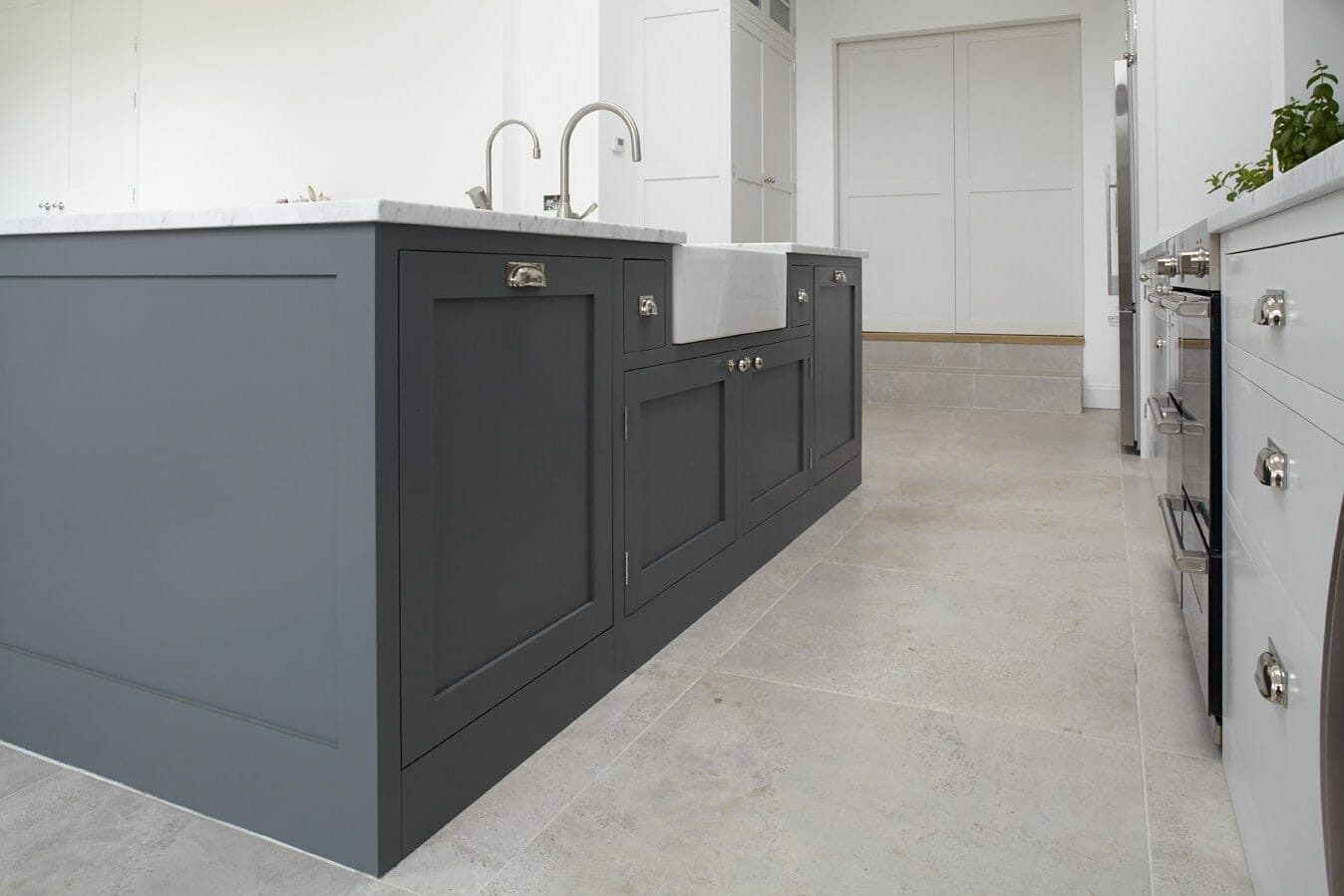 Hampton Painted Shaker Kitchen Higham Furniture