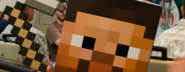 Minecraft Steve @ DragonCon 2013