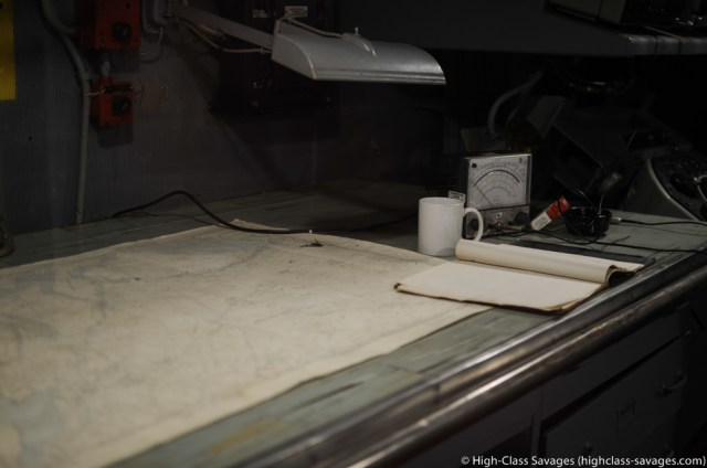 Navigation Officer's Desk, USS Yorktown @ Patriots Point, Charleston (South Carolina)