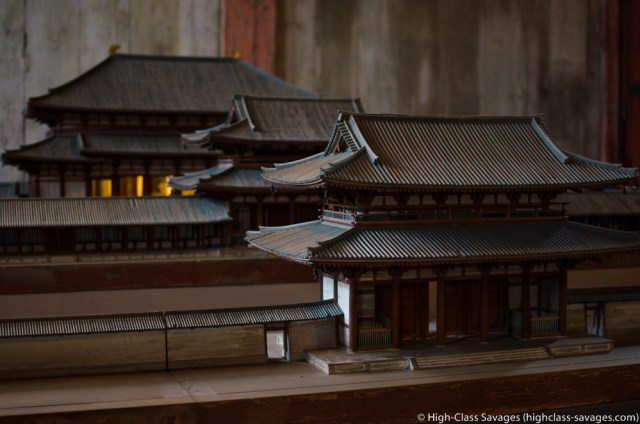 Model of Todaiji Temple @ Nara, Japan