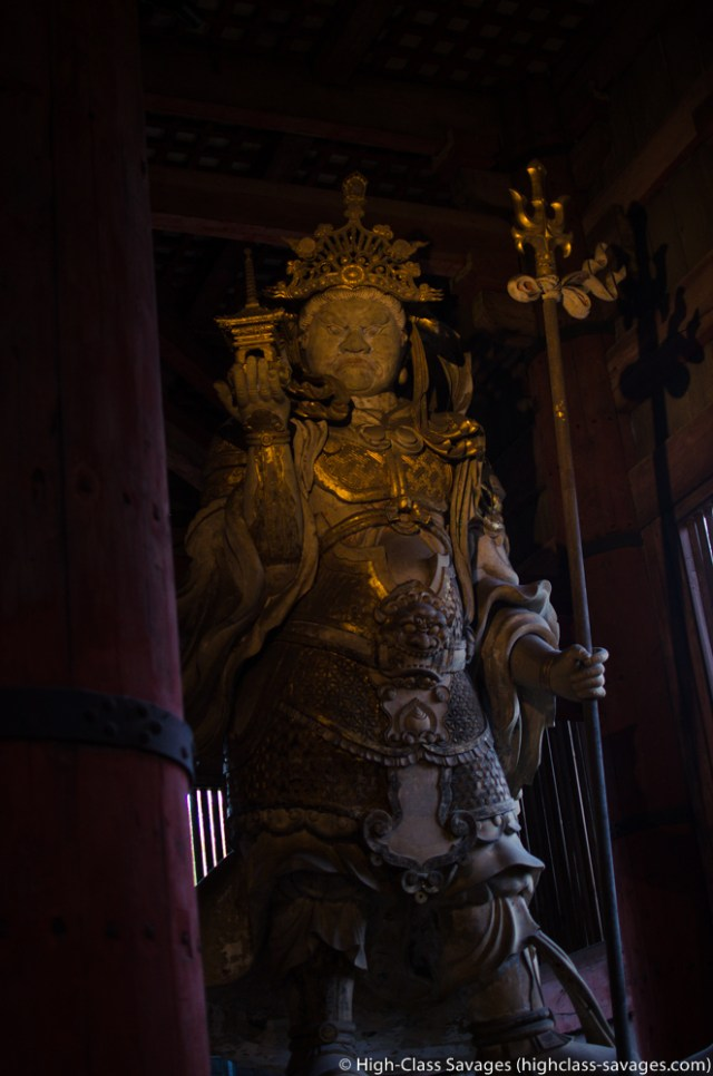Nio (Protector King) @ Todaiji Temple, Nara, Japan