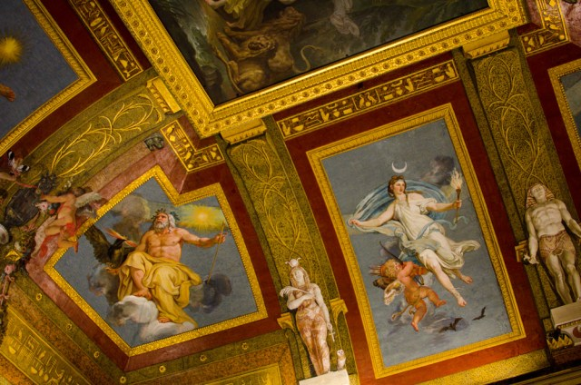 Egyptian Room Ceiling @ Borghese Gallery, Rome, Italy