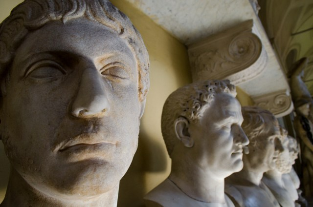 Busts @ Hall of Busts, Vatican Museum, Rome, Italy