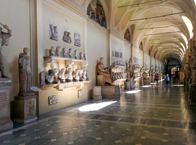 Hall of Busts @ Vatican Museum, Rome, Italy